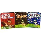 Nestlé Nestle Medium Easter Egg Collection Trio - Kit Kat - Rolo - Smarties