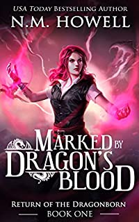 Marked By Dragon's Blood by N.M. Howell ebook deal