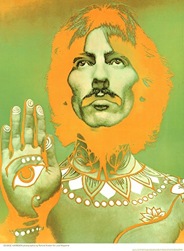 Richard Avedon-George Harrison-1967 Poster