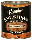 Rust-Oleum Varathane 9141H 1-Quart Interior Oil Polyurethane, Satin Finish