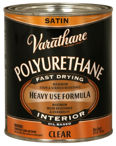 Rust-Oleum 9141H Oil Polyurethane, 1-Quart, Satin Finish