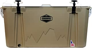 product image for CORDOVA 100 Large Cooler - Hard Sided Rotomolded Ice Chest with 88 Quart Capacity & Built In Bottle Opener - Made in the USA