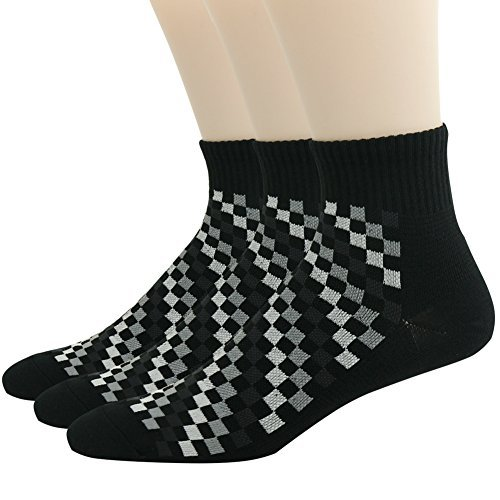 QualiMaker SOCKSHOSIERY メンズ  3pairs Color116 B01LCE6P88