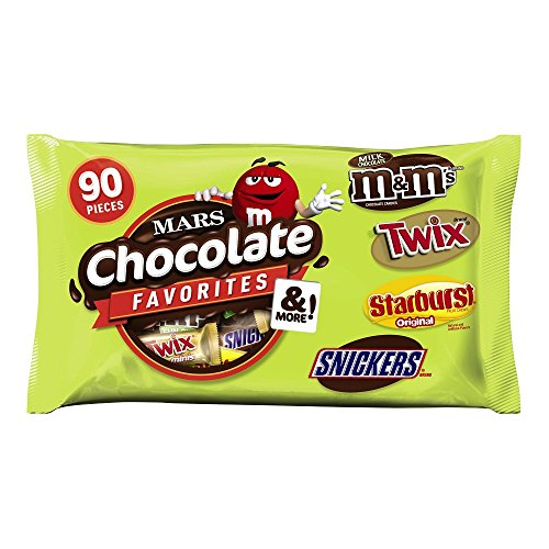 mars chocolate and more favorites halloween candy variety mix