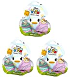Set of 3: Disney Tsum Tsum - Pastel Parade Mystery Packs - Limited Edition Figures