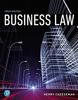Business law study guide 5th edition ramona atkins 9780131460966 business law 10th edition whats new in business fandeluxe Gallery