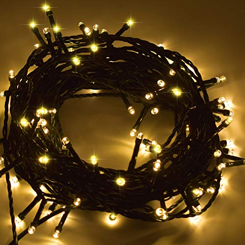 Good Hot Best Party String Lights 200 LED Outdoor Patio Garden Corridor Wedding Parties Tree Lighting Decoration UL Certified