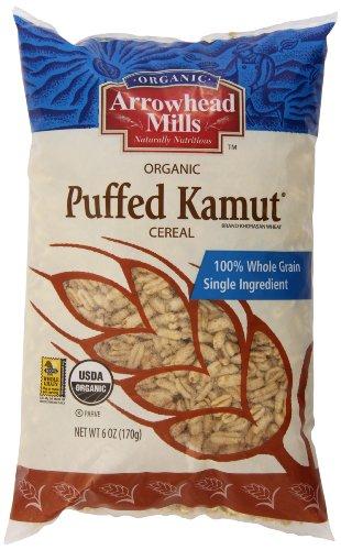 - Arrowhead Mills Organic Kamut Cereal, Puffed, 6 Ounce