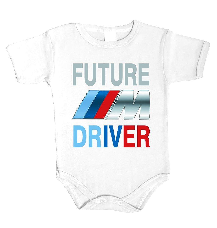 BMW Bodysuits Kurzarm Baby Body Logo-Fans Weiß 100/% Baumwolle Auto