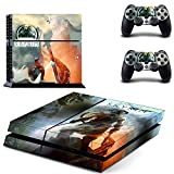MightyStickers - The Elder Scrolls 5 SKYRIM PS4 Console Wrap Cover Skins Vinyl Sticker Decal Protective for Sony PlayStation 4 + 2 Controller