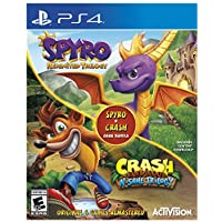 Crash Trilogy & Spyro Reignited Bundle for PS4 or Xbox One