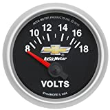 Auto Meter 880444 GM Series Electric Voltmeter Gauge