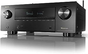 Denon AVR-X3700H 8K Ultra HD 9.2 Channel (105 Watt X 9) AV Receiver 2020 Model - 3D Audio & Video with IMAX Enhanced, Built for Gaming, Music Streaming, Alexa + HEOS