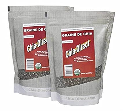 1 kg Semilla de Chia Bio – Lote de 2 x 500 g