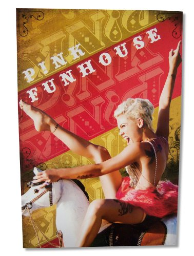 Pink 24x35 Funhouse Horse Glossy Wall Poster (Fun Poster)