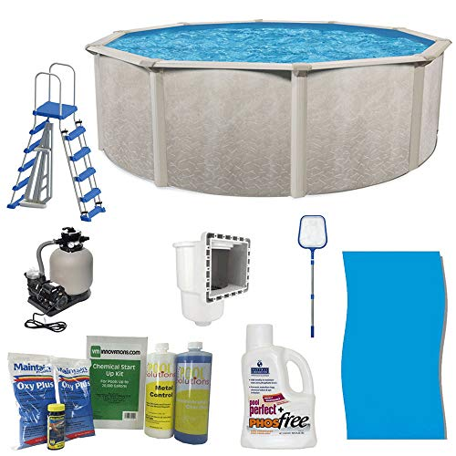 Cornelius Pools Phoenix 18' x 52 Frame Above Ground Pool Kit with Pump & Ladder