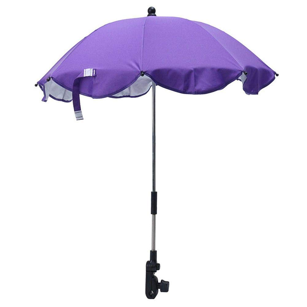 Baby Sun Umbrella,Folding Parasol Umbrella for Pram, Stroller, Pushchair and Buggy, Protects Babies and Infants from UV Resistant by Window-pick