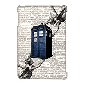 Doctor Who Tardis Police Box Ipad Mini Case Hard Plastic Doctor Who Ipad mini Cover HD Image Snap ON