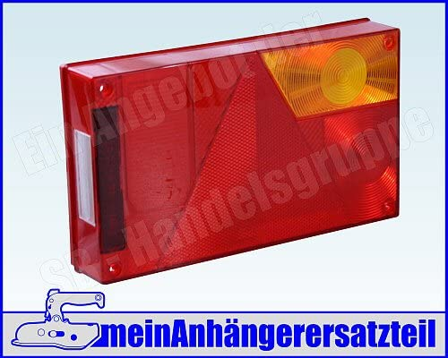 Lichtscheibe Für Rückleuchte Aspöck Multipoint 1 I Rechts 18 8452 007 Ersatzglas Für Pkw Anhänger Auto