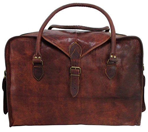 Leather Lined Carry On - 6