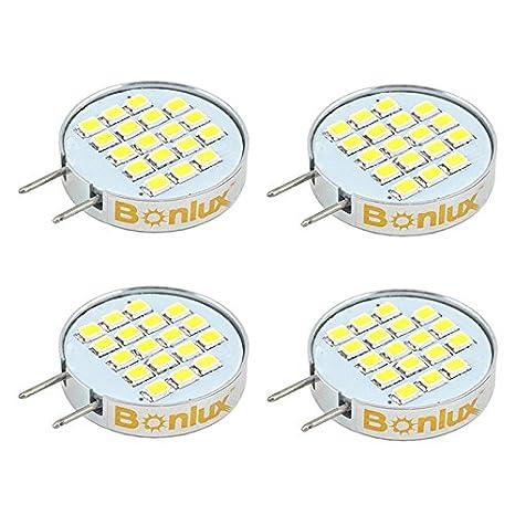 Bonlux Dimmable LED G8 Bulb  120V Warm White T4 G8 Bi Pin LED Halogen