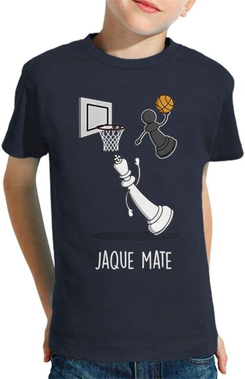 latostadora - Camiseta Jaque Mate Black para Nino y Nina Azul ...
