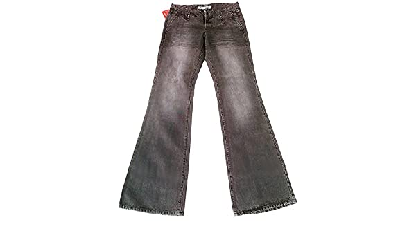 Fornarina Mujer Jeans Gris Club Denim Stone Wash Rock Star ...