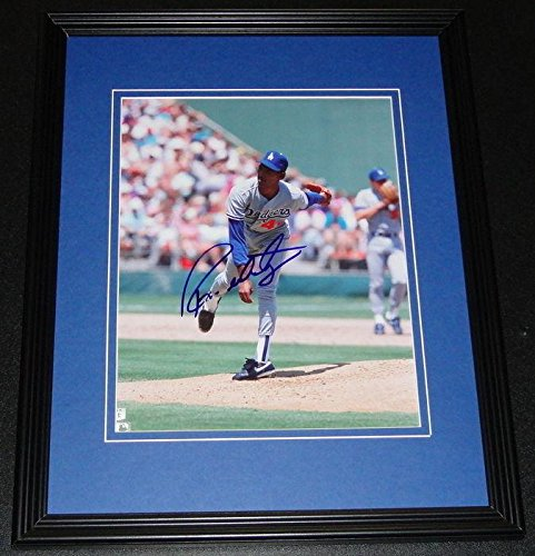 No Hitter 8x10 Framed - Autographed Ramon Martinez Picture - Framed 8x10 No Hitter - Autographed MLB Photos