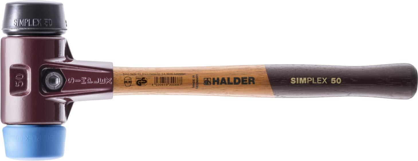 3012040 Soft-Face Mallet''Simplex'' 40mm of Rubber/TPE-Soft by Halder
