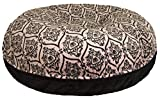Cheap BESSIE AND BARNIE Signature Black Puma/Versailles Pink Extra Plush Faux Fur Bagel Pet/Dog Bed (Multiple Sizes)