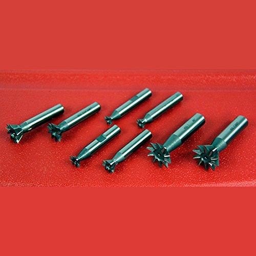 "5 Pcs 3//4/"" X 45 Degree Premium HSS Dovetail Cutter Set Milling High Speed Steel"