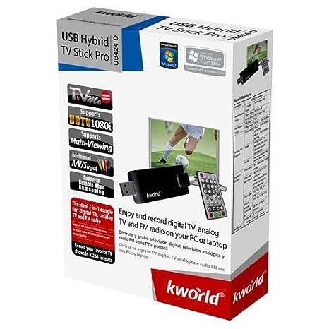 KWORLD UB424-D TV STICK REMOTE CONTROL DRIVER WINDOWS