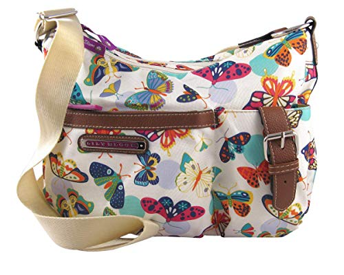 Lily Bloom Kathyrn Hobo Crossbody Bag, Butterfly Twister