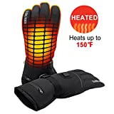 GLOBAL VASION Rechargeable Battery Heated Gloves 3 Heat 7.4V (L)