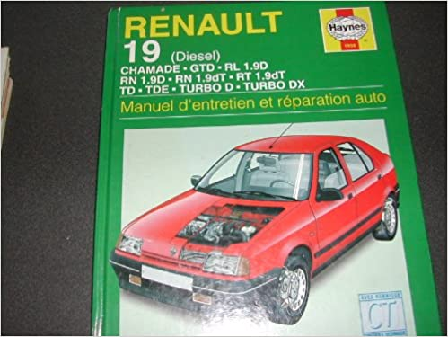 Renault 19 Diesel (French service & repair manuals) (French Edition): 9781850109501: Amazon.com: Books