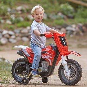 Best Ride on Cars Honda CRF250R Dirt Bike 6V 185 Kids Riding Car