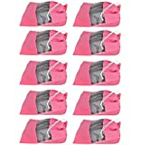Shoeshine India Transparent Shoe Bags (Pack of 10) Shoe Covers