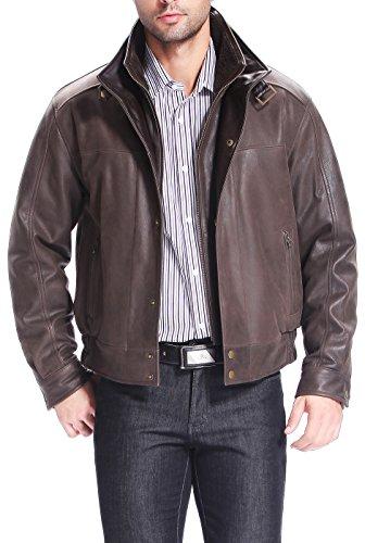 Cowhide Leather Flight Jacket - 4