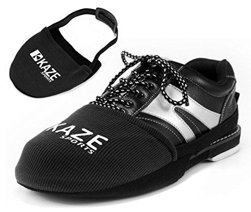 - KAZE SPORTS Bowling Shoe Slider (Black)