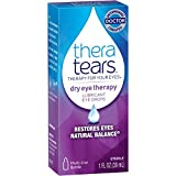 TheraTears Dry Eye Therapy- Lubricant Eye Drops- Value Siize. 4 Packk SP( 120mL Total ) Thera-Bh