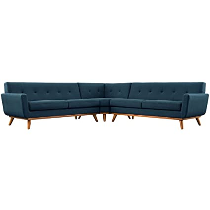 Amazon.com: L-Shaped Sectional Sofa Dimensions: 107\