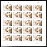 Wedding Roses Sheet of Twenty Forever Stamps Scott 4520