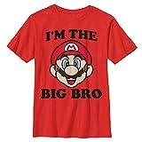 Nintendo Boys Big Bro Graphic T-Shirt,