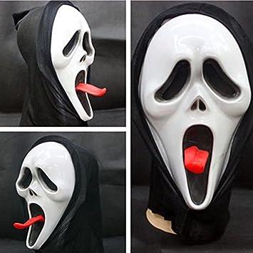 Máscara de la Muerte máscara de Halloween Masquerade mueca mueca de terror grito cráneo máscara Blabbermouth