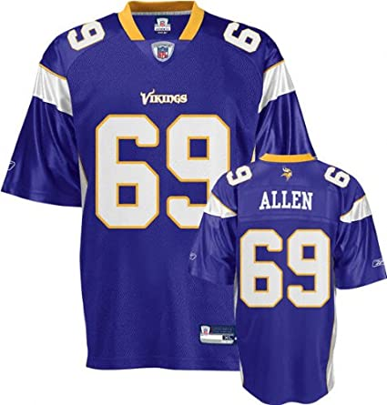 Replica Minnesota Vikings Amazon Sports Clothing 69 Jared Reebok Jersey Jersey 3xl com Jerseys - Fan Allen Purple