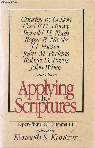 Applying the Scriptures