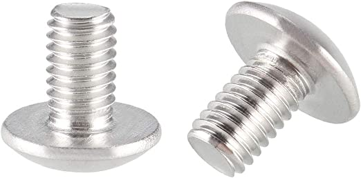 10pcs 304 stainless steel screw mushroom head machine screw m4
