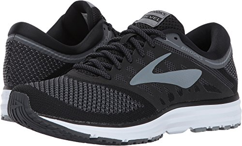 Brooks Women's Revel Black/Anthracite/Primer Grey Athletic Shoe,10 B(M) US by Brooks