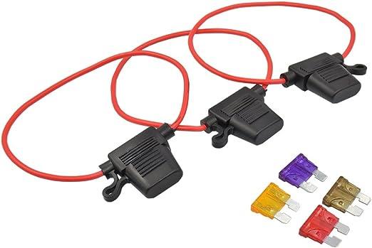 5 pcs 25A Add-A-Circuit Mini Blade Fuse Holder ACS ATO ATC For Car Truck US