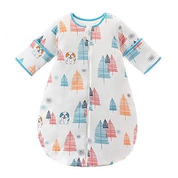 Saco de dormir xiuyun algodón para bebés Cuatro Estaciones Anti-Kick (Color : D, Tamaño : Metro): Amazon.es: Hogar